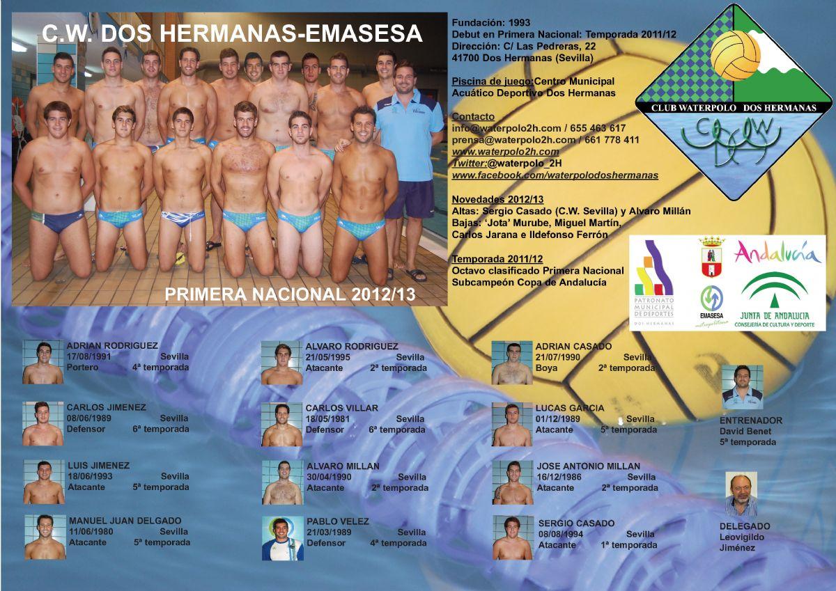 C.W. Dos Hermanas-EMASESA 2012/13