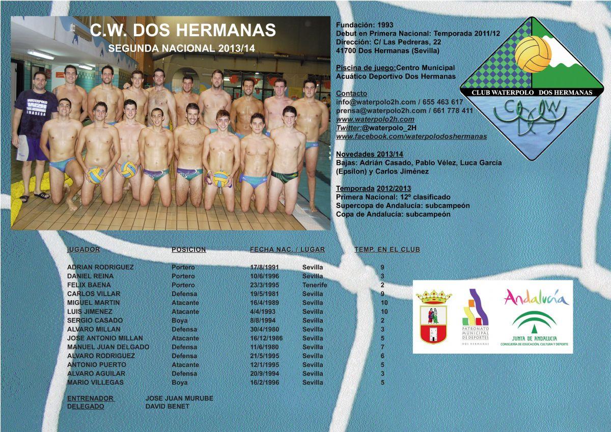 C.W. Dos Hermanas-EMASESA 2013/14