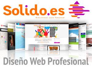 SOLIDO.ES - Diseño web, e-Marketing, Hosting y Publicidad. Sitios Web Corporativos, Tiendas Online, Blog, ... Teléfono 95 567 03 43