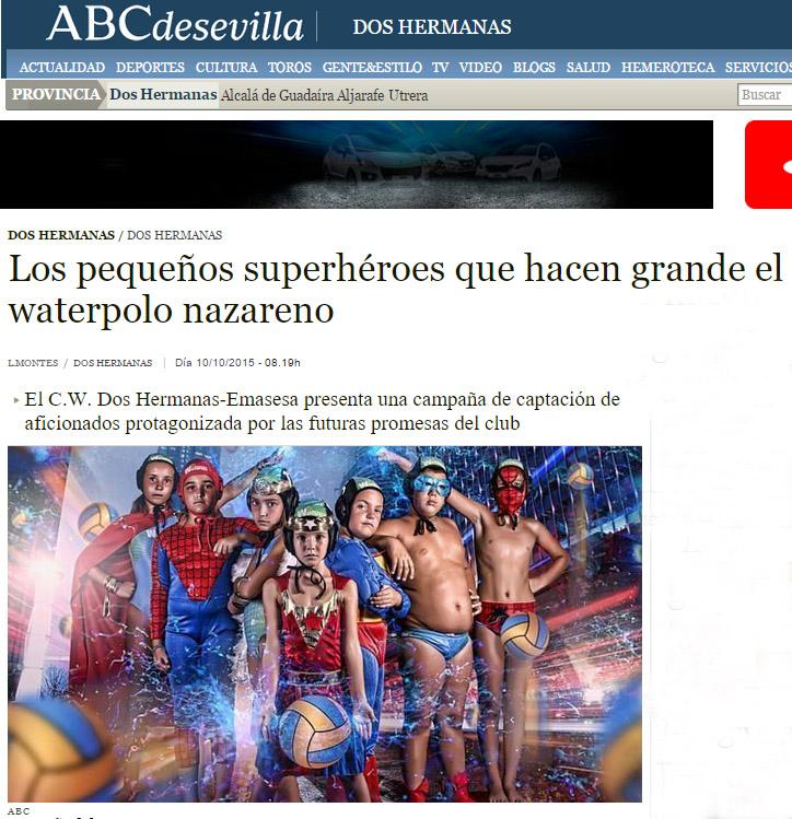 ABC / Los pequeños superhéroes que hacen grande el waterpolo nazareno