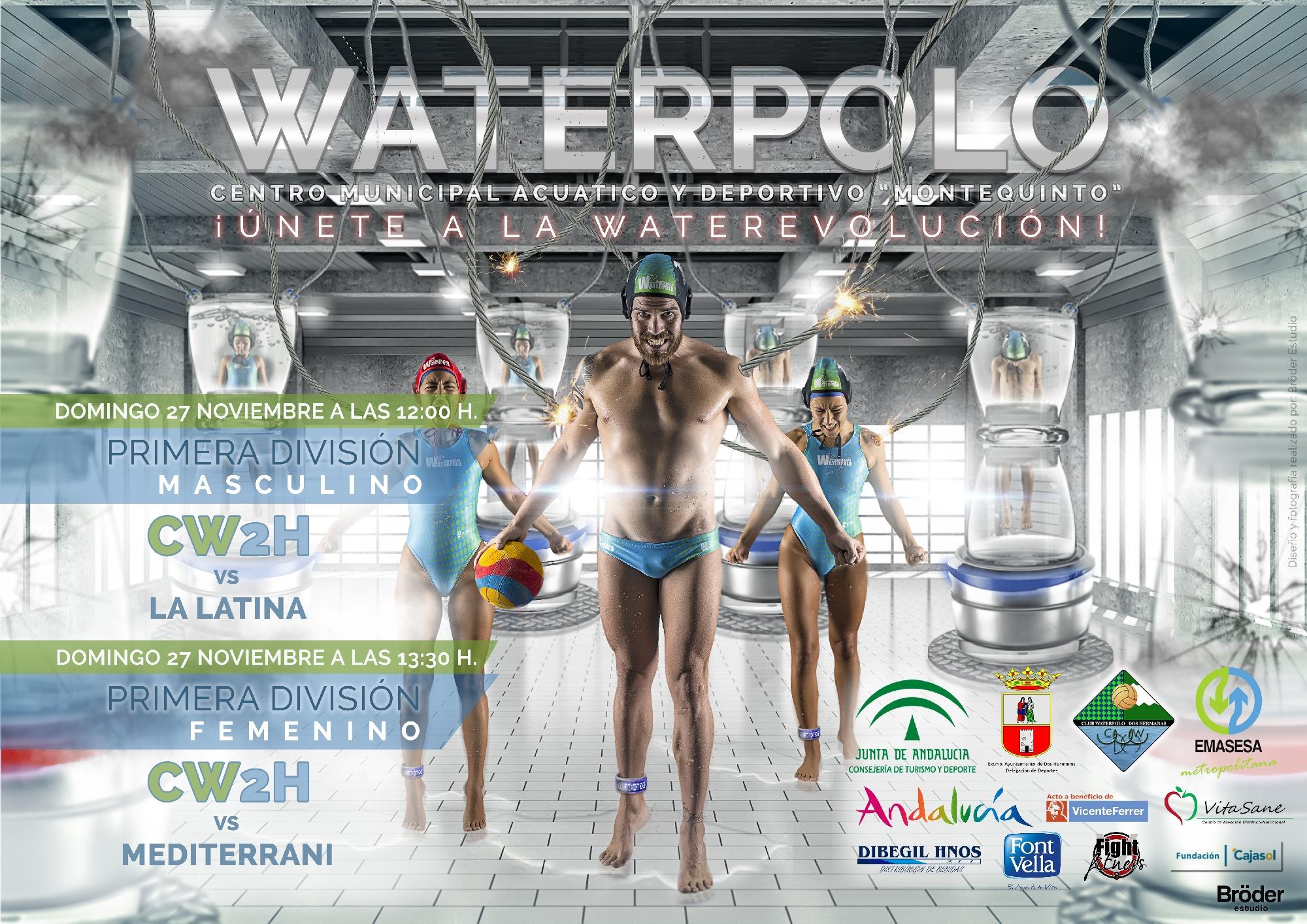 El C.W. Dos Hermanas-EMASESA convoca la 'Waterevolución' en Montequinto