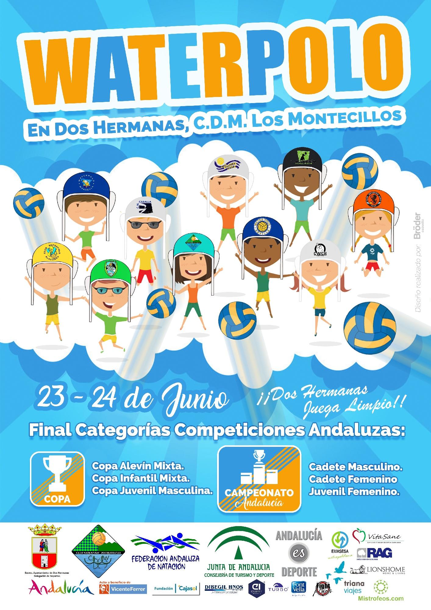 Fase final de los Campeonatos y Copas de Andalucía FAN de categorías