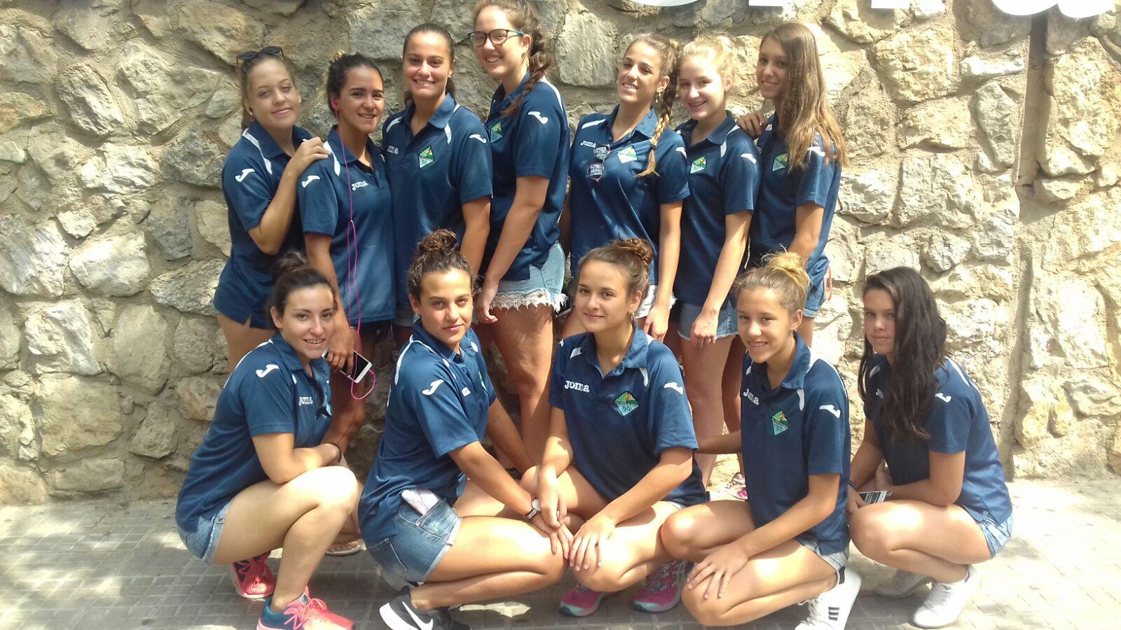 Décima plaza nazarena en el Campeonato de España juvenil femenino