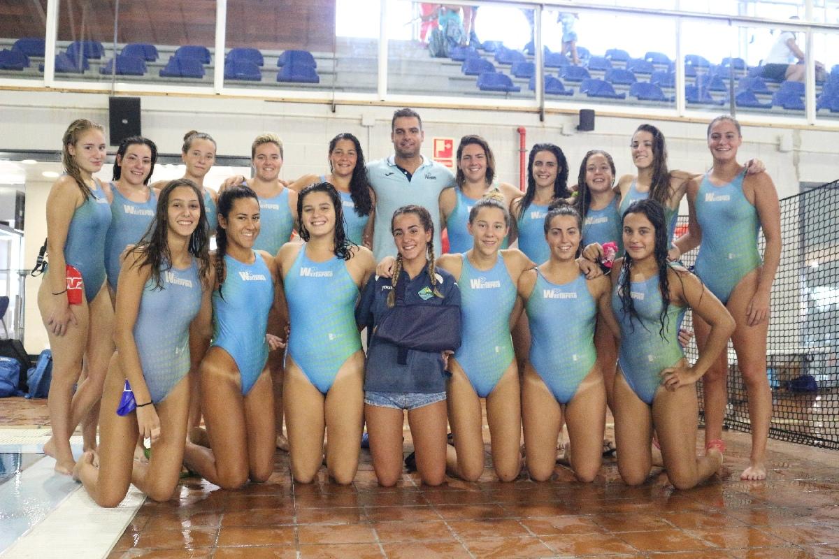 El C.W. Dos Hermanas cumple su papel en la Copa de Andalucía