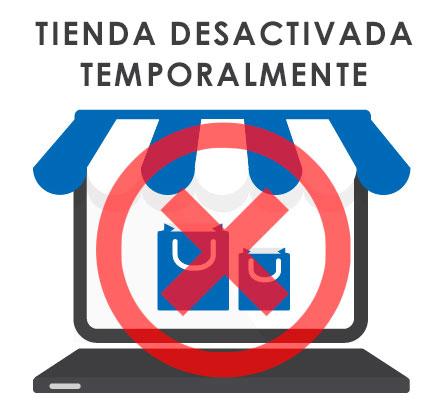Tienda desactivada temporalmente