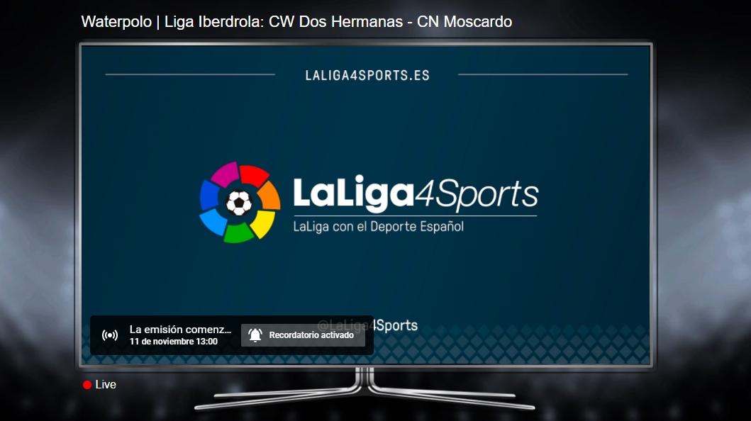 Sigue en directo, por streaming, el C.W. Dos Hermanas-C.N. Madrid Moscardó de la Liga Iberdrola de waterpolo femenino