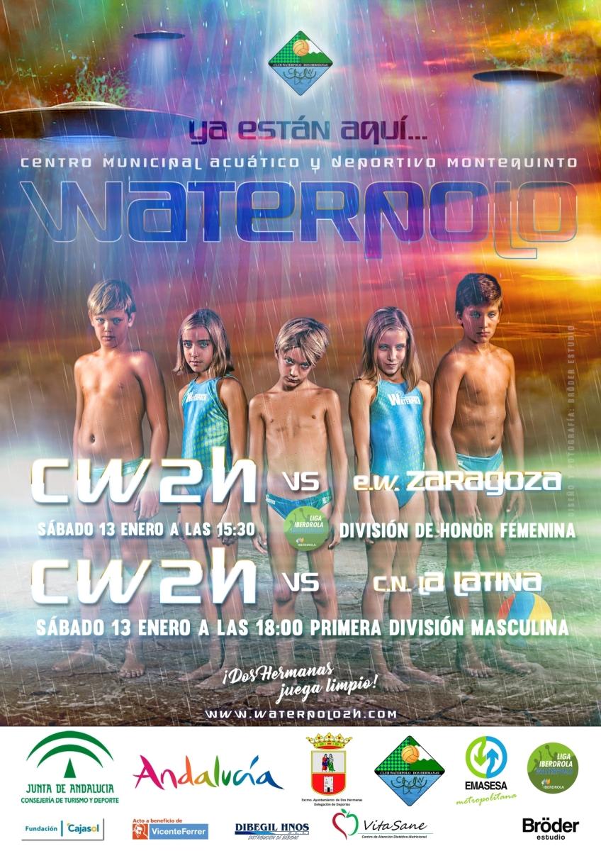 'Ya están aquí…': conjura del C.W. Dos Hermanas en Montequinto