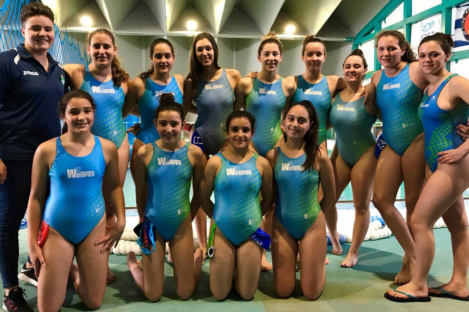 Las cadetes del C.W. Dos Hermanas, a la fase final del Campeonato de Andalucía