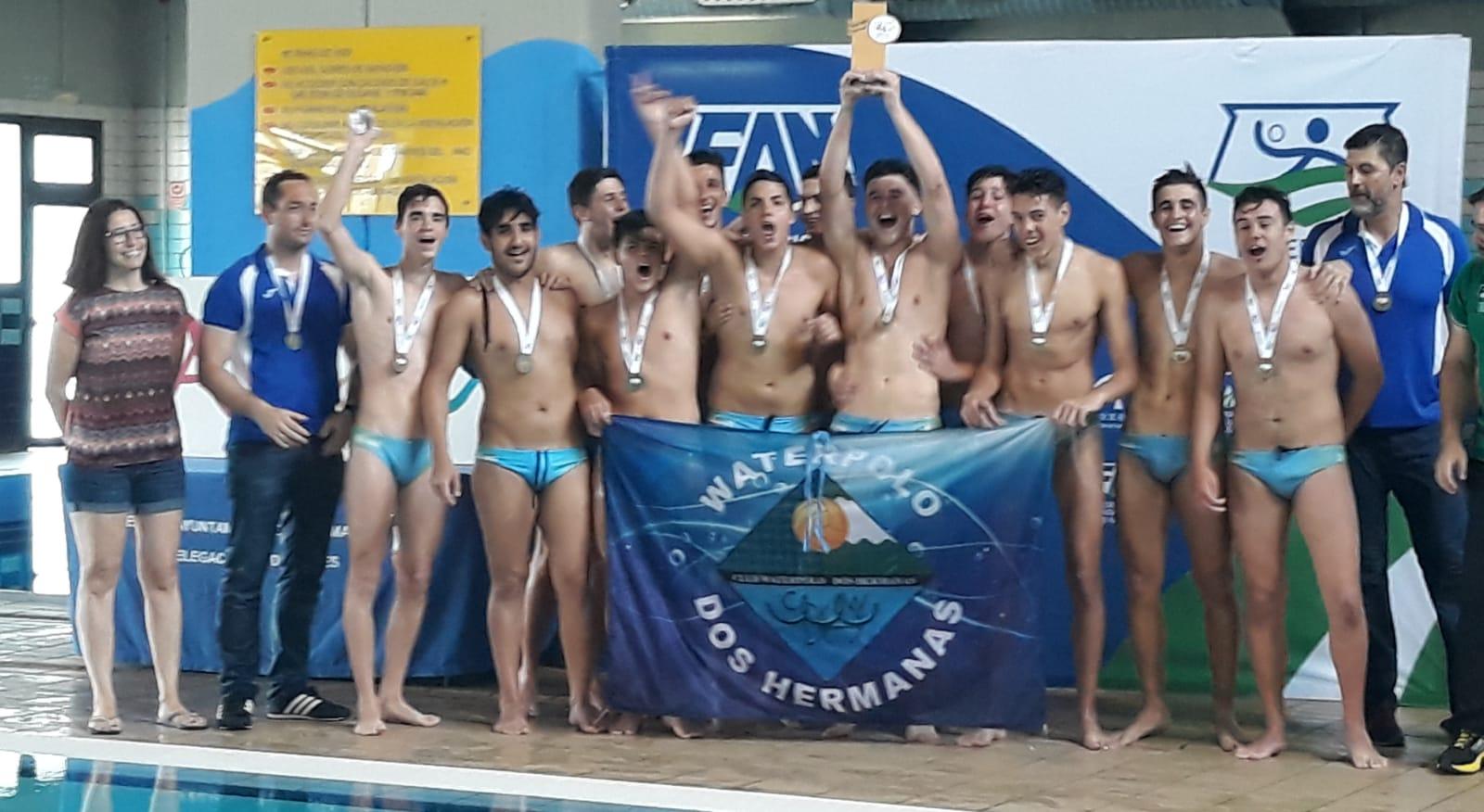 El C.W. Dos Hermanas, campeón de Andalucía juvenil