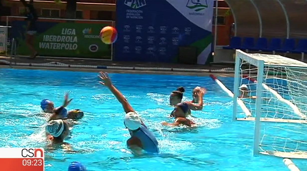 Canal Sur Noticias, con el Campeonato de España juvenil femenino de waterpolo de Dos Hermanas