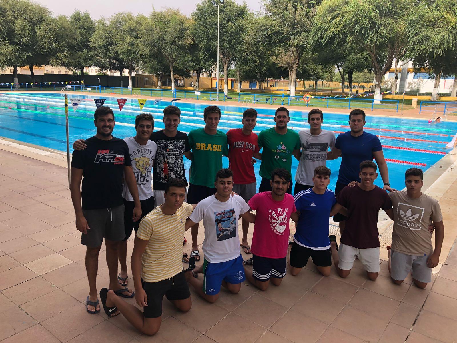 El equipo de Primera Nacional masculina, también de pretemporada