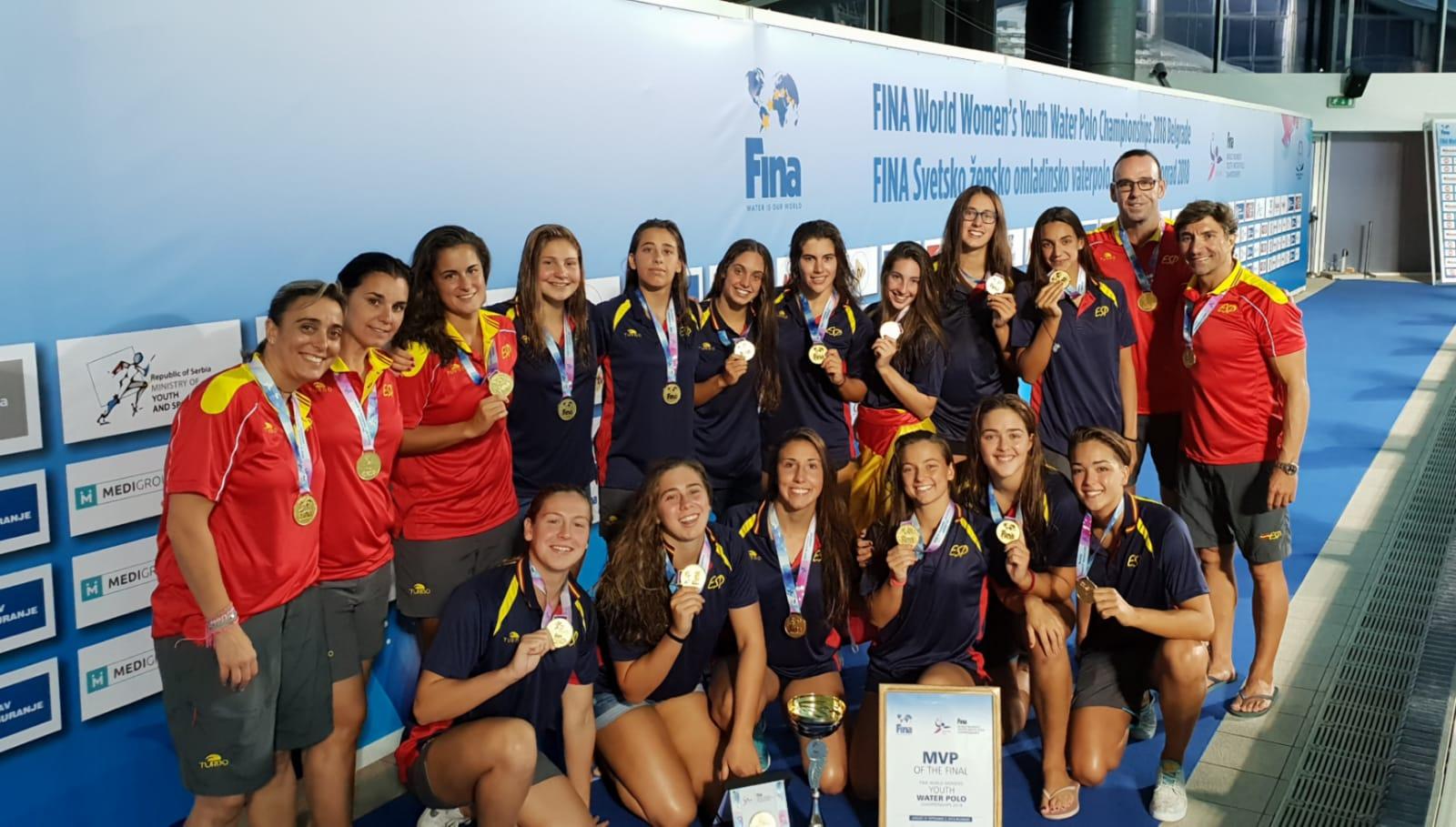España, campeona del mundo juvenil femenina con doble presencia andaluza