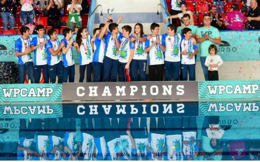 El C.W. Dos Hermanas, campeón del Torneo WP Camp de Madrid