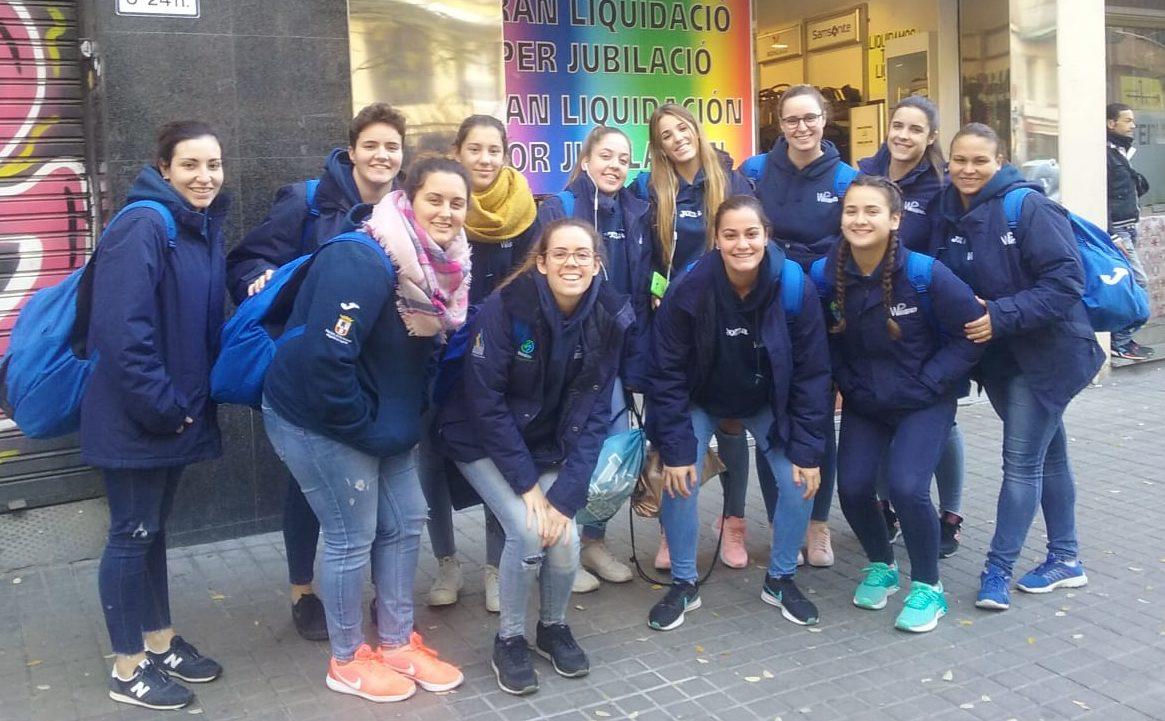 El C.W. Dos Hermanas despide 2018 con triunfo en Primera Nacional femenina