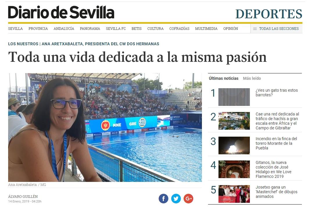 Ana Aretxabaleta, toda una vida dedicada a la misma pasión