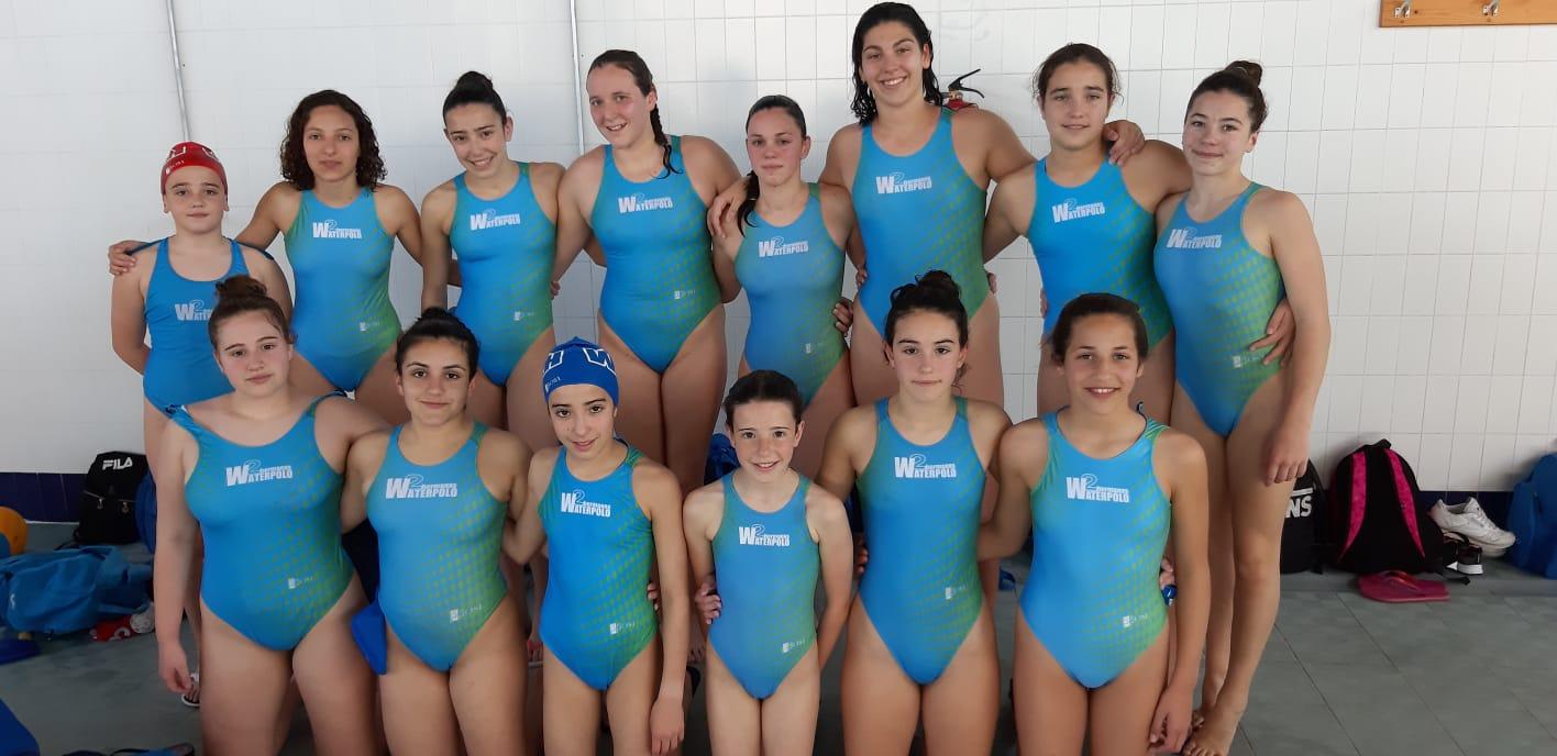 El C.W. Dos Hermanas, favorito en los play off del Andaluz cadete femenino