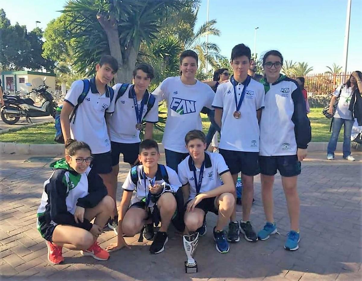 La selección andaluza infantil sube al podio del Campeonato de España