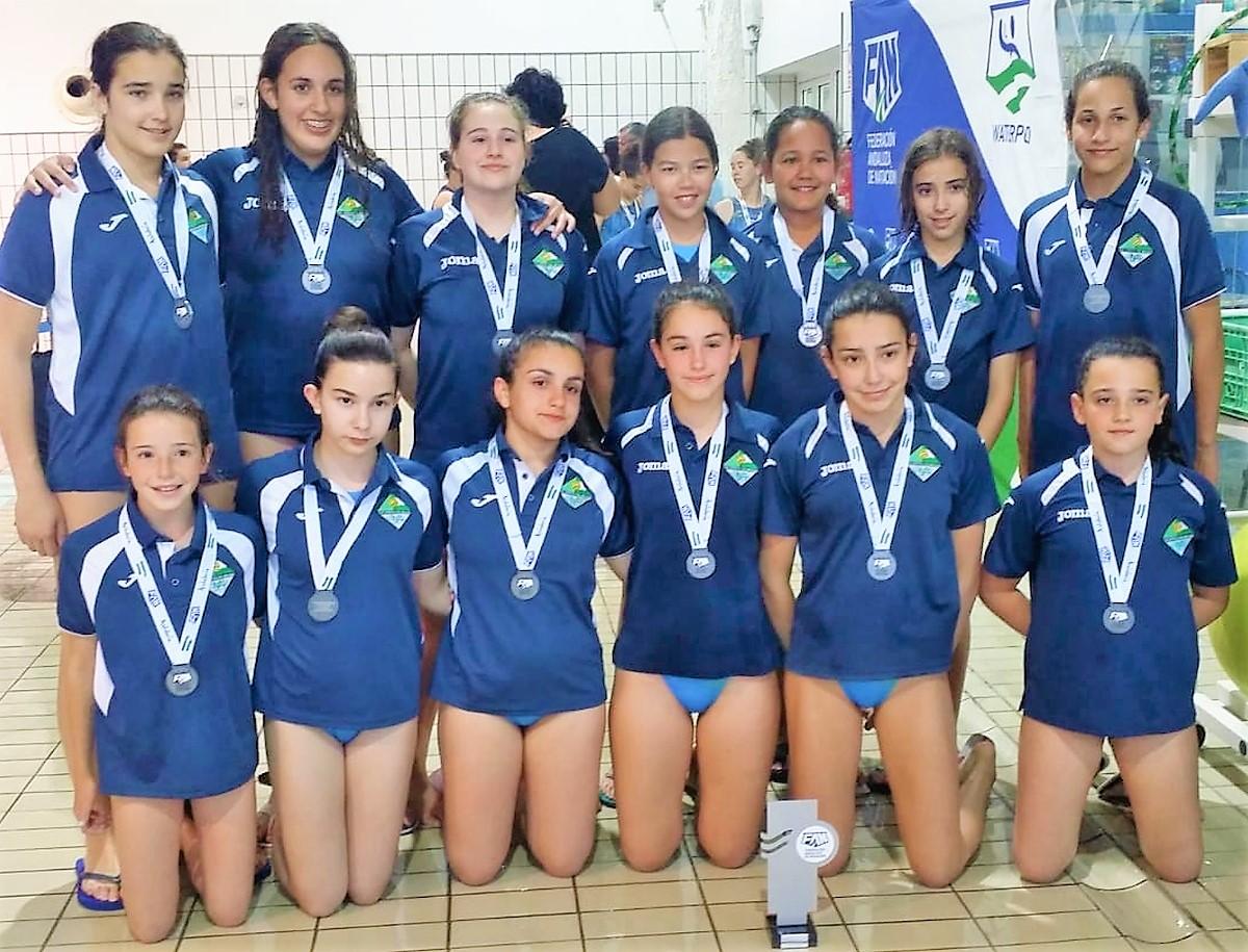 El C.W. Dos Hermanas, subcampeón de Andalucía infantil