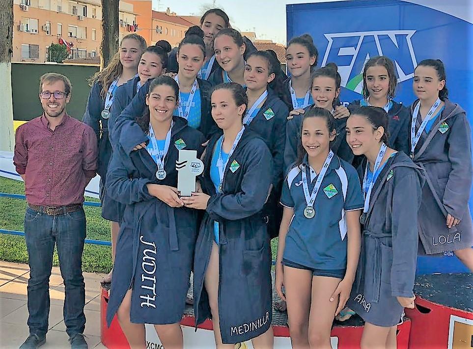 El C.W. Dos Hermanas, subcampeón de Andalucía cadete